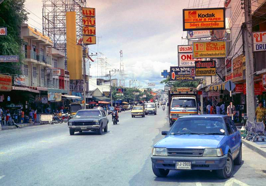 Central Pattaya Road 1986