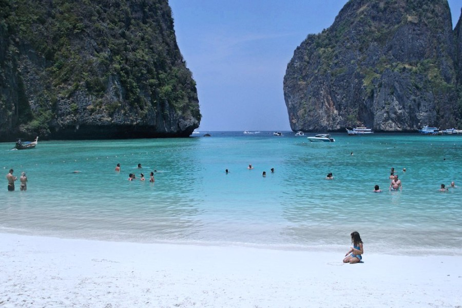 PhiPhi_Island_Beach